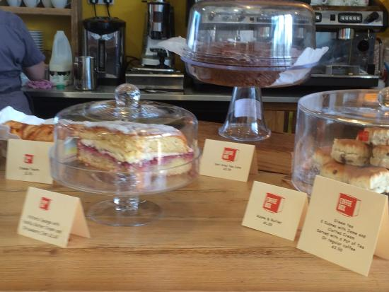 Coffee Box: More delicious cakes on offer