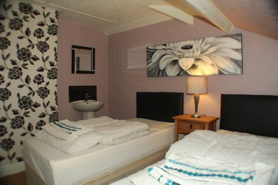 Lledr House Hostel: Twin Private Room
