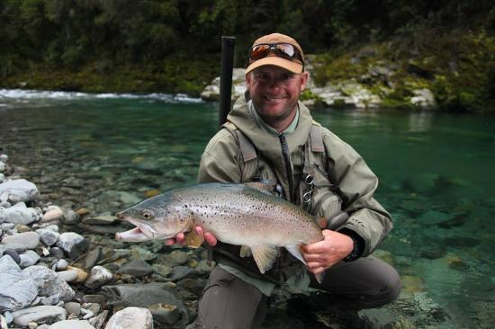 New Zealand Trout Adventures: Cracker brown trout