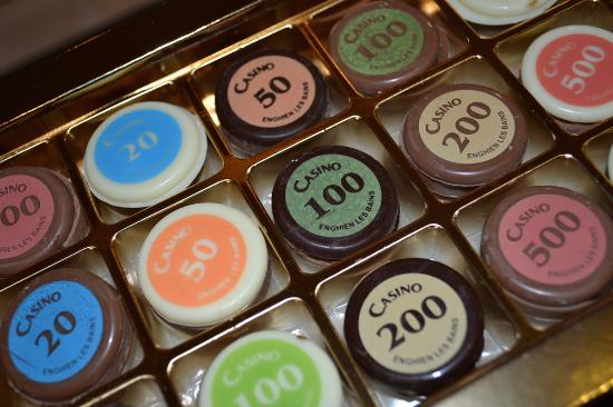 Jeton Casino d'Enghien en Chocolat