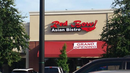 Red Bowl Asian Bistro: We made it.