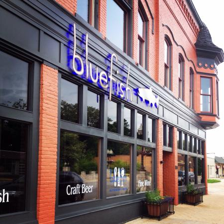 picture of blue fish kitchen manistee