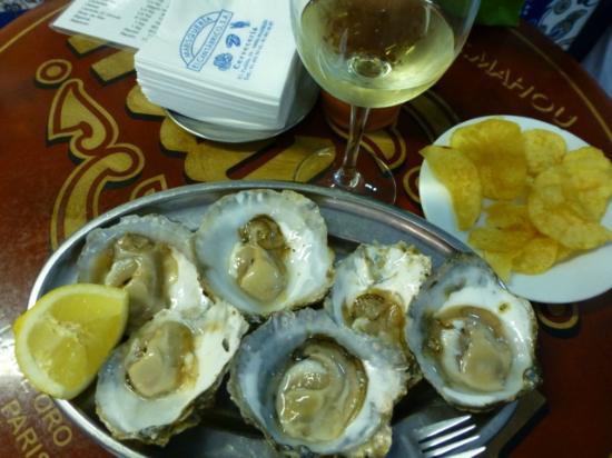 El Cantabrico: Frische Austern erste Qualität