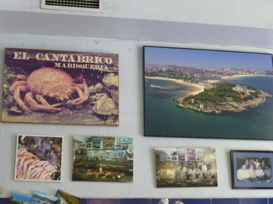El Cantabrico: Blick auf Santander