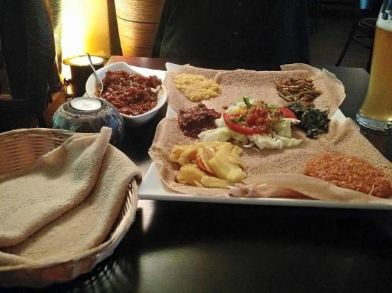Injera: Platter for 2