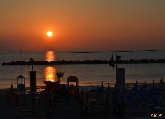 Hotel Barca d'Oro: L'alba