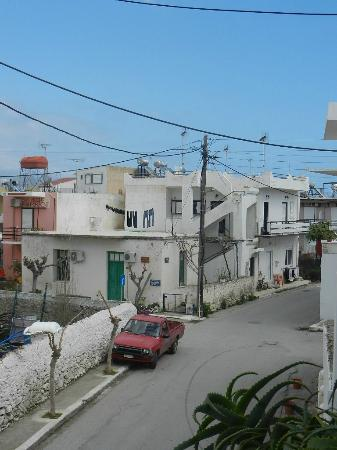 Manto Studios: widok z balkonu
