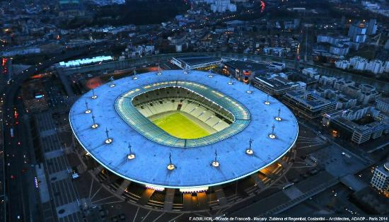 Saint-Denis, Frankreich: Stade de France photo officielle
