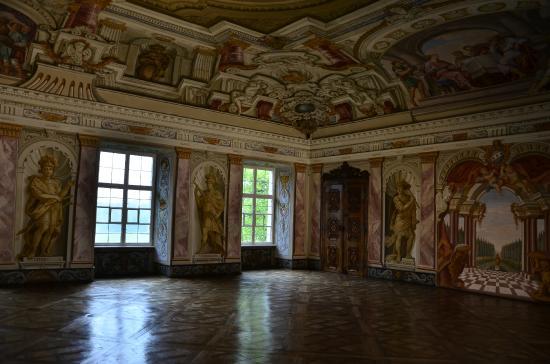 Lake Chiemsee: sala interna del monastero