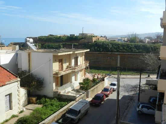 Hotel Irene: Widok z balkonu