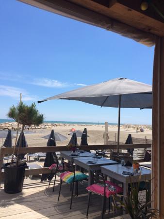 La Playa : Déjeuner sur la plage