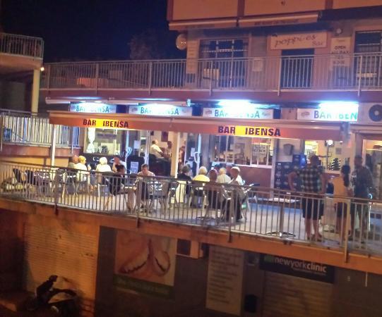 Superb lively bar - Picture of Bar Ibensa, Benalmadena - TripAdvisor