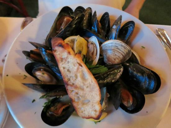 Canfield House Restaurant: Mussels and Clams