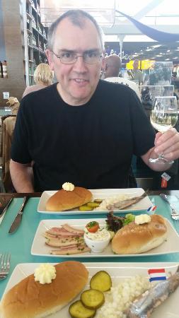 Bubbles Seafood & Winebar: Brilliant matjes!