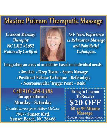 Maxine Putnam Therapeutic Massage