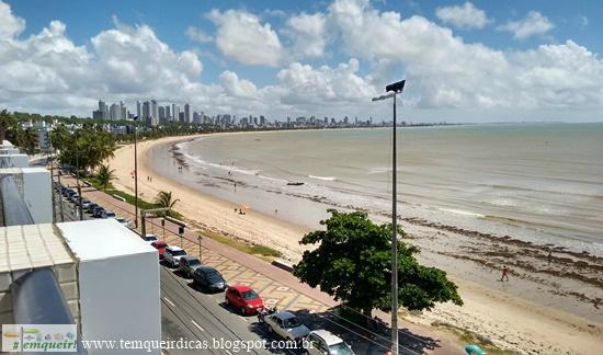 Cabo Branco Atlantico Hotel: Vista da cobertura onde fica a piscina