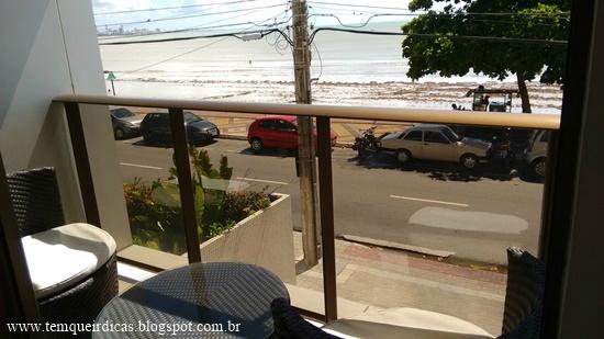 Cabo Branco Atlantico Hotel: Vista do Ap frente mar