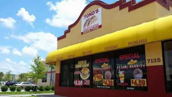 Tono S Mexican Food Orlando Fl