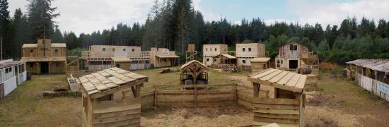 Wildwoodz Paintball and Lasertag Park : Redemption - The Wildwoodz 'Wild West'