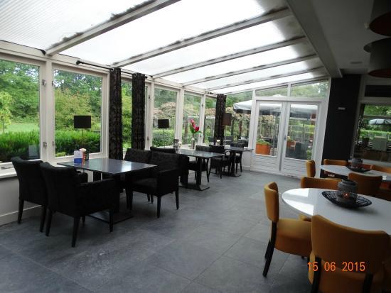 Hotel Oranjeoord : Chill gedeelte voor een wijntje of wat anders