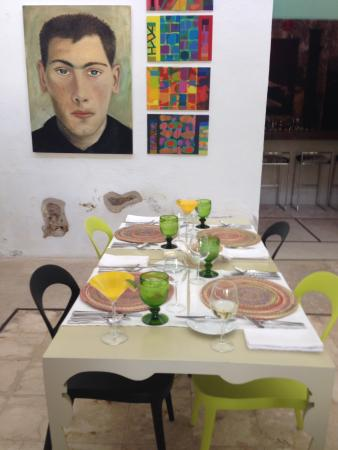 Hacienda San Jose Pachul: The dining area