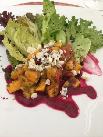 Hacienda San Jose Pachul: This delicious salad