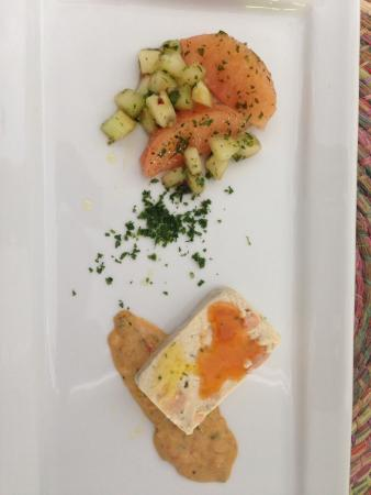 Kinchil, México: Salmon Dish