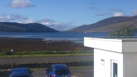 Balmacara Hotel: view from room