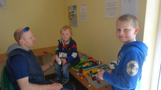 Woodlands Caravan Park: Lego Area