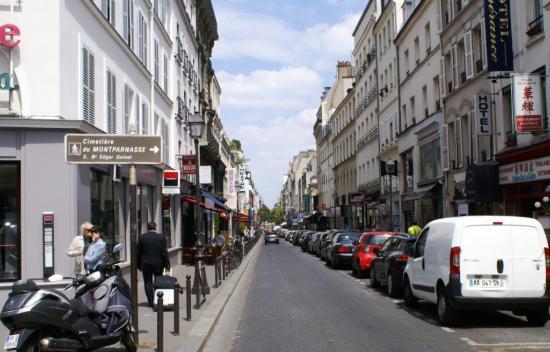 rue de la gait 233 vue de l avenue du maine picture of montparnasse tripadvisor