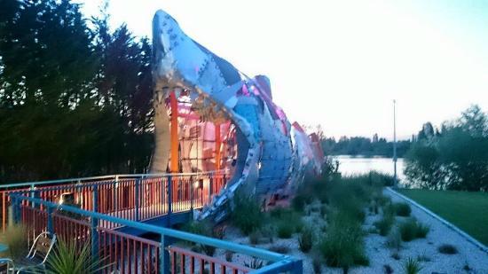 Thorpe Shark Hotel Walkway