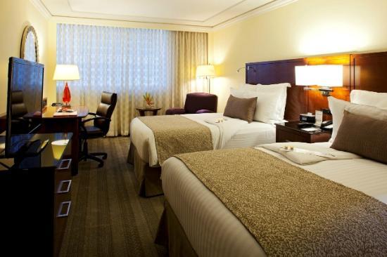 Mexico City Marriott Reforma Hotel : HABITACION DELUXE DOBLE