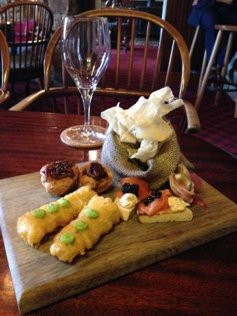 The Rose & Crown: Amuse bouche to die for!