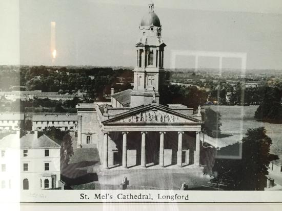 Longford, Irland: Old Photo of St Mels