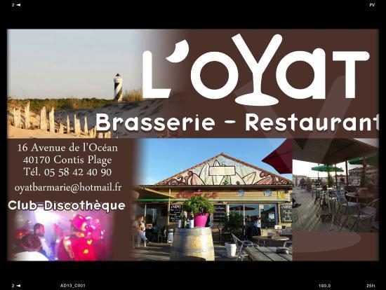 L oyat restaurant contis les bains restaurant avis for S bains restaurant
