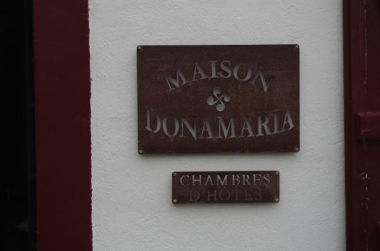 Maison Donamaria