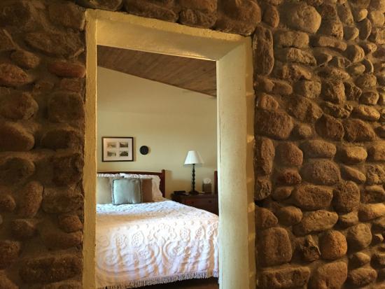 The Stone Village Tourist Camp: Beautiful stone wall
