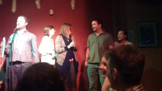 City Limits Comedy Club : Crowd participation during the show!