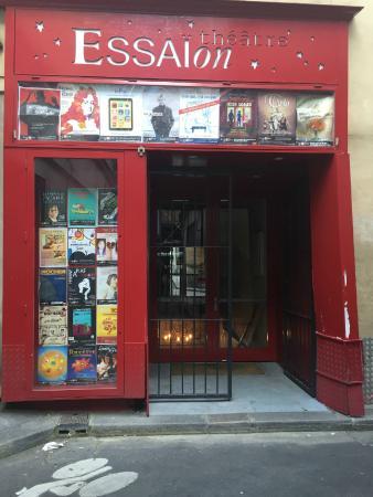 Essaion Theatre : the theatre entrance