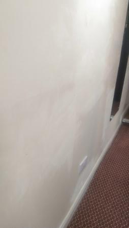 Poor paint work