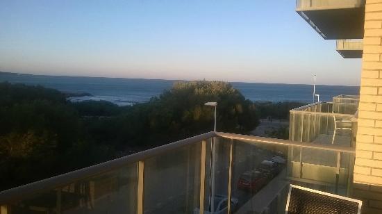 Alcocebre Suites Hotel : Vistas de la terraza