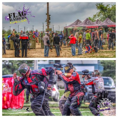 Flag Raiders Outdoor Paintball Games
