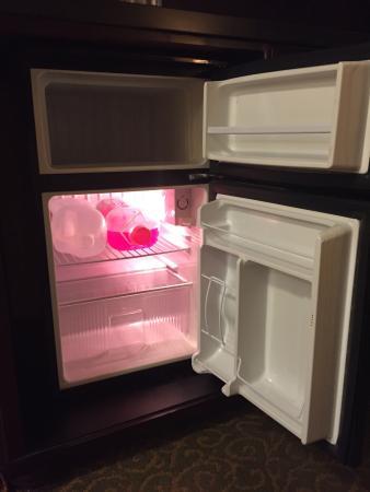 Ayres Hotel Redlands: Mini-fridge big enough for large stuff