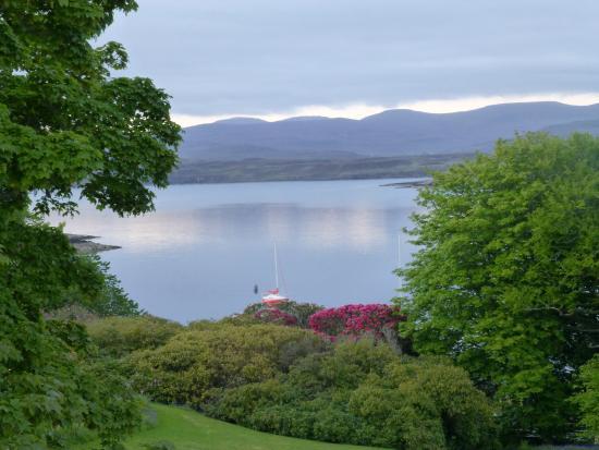 Greshornish House Hotel: Loch view