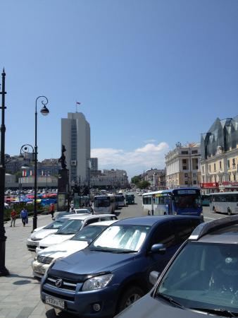 Central Square : Солнечный день