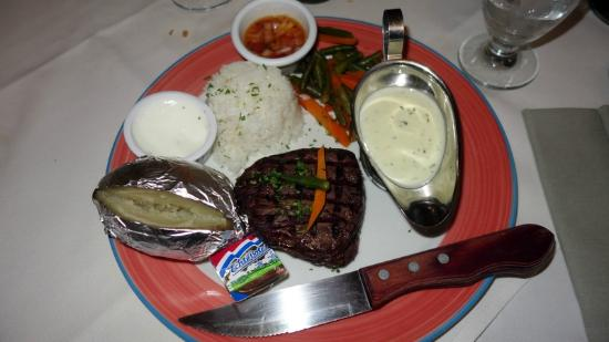 Patagonia : filet mignon sauce bleue