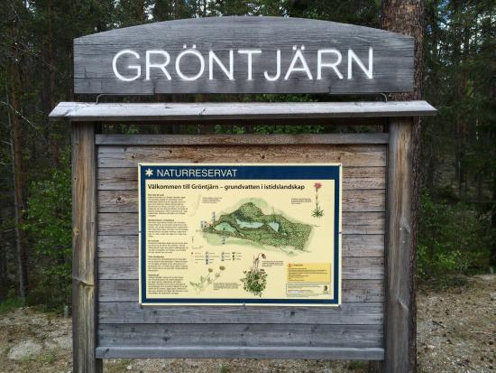 Ljusdal, Suecia: Informatiebord