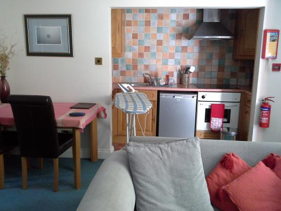 Home from Home: Well equipped Kitchenette and sitting room