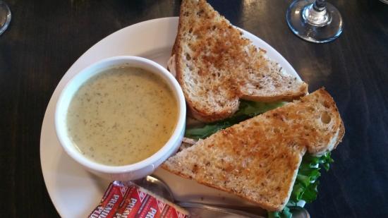 Turkey Cranberry sandwich option, Max Restaurant - Park Place Lodge  |  742 Highway #3, Fernie,