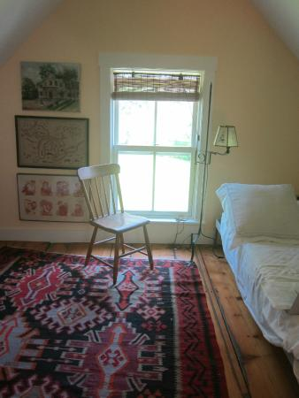 Craftsbury Common, Βερμόντ: Room with Comfortable Double Bed
